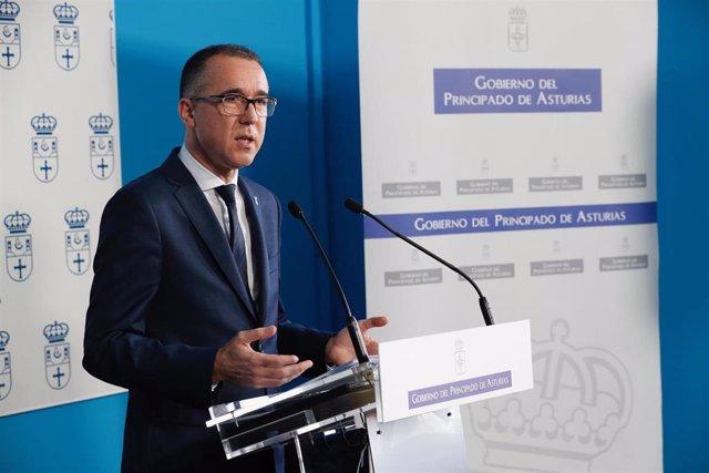 El consejero de Salud, Pablo Fernández Fernández.