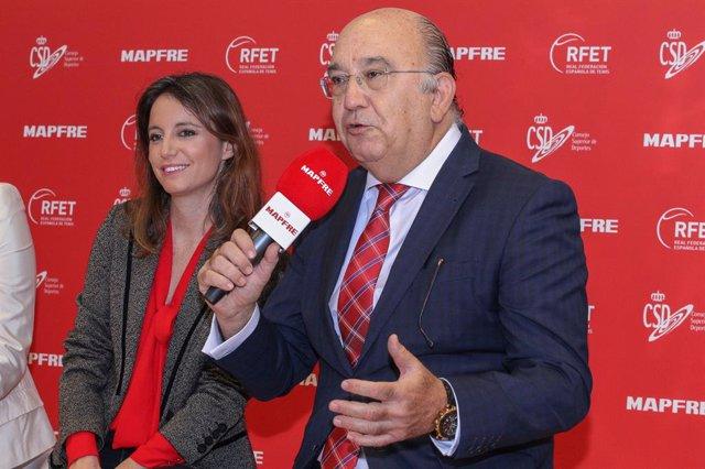 Tenis.- La RFET suspende todas sus competiciones hasta el 5 de abril por el coro