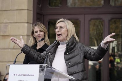 Rosa Díez llama a suspender ya las elecciones en Euskadi y Galicia