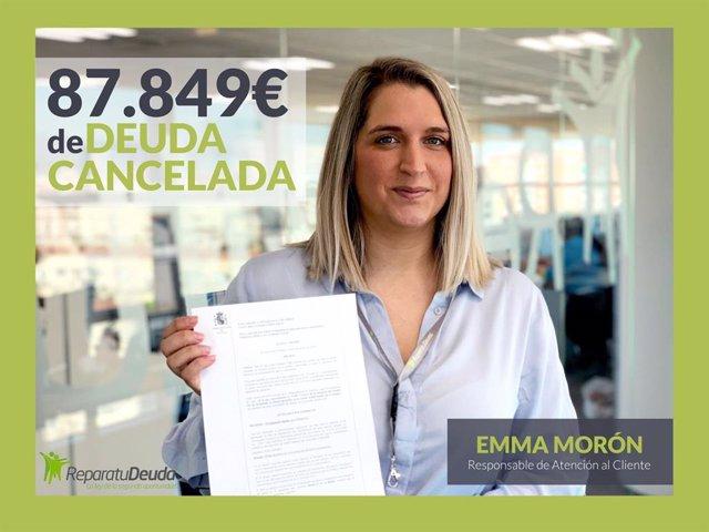 COMUNICADO: Repara tu deuda Abogados cancela 87.849 € a un vecino de Barcelona c