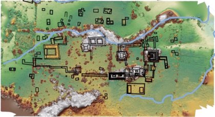 La capital perdida de un antiguo reino maya aparece en el sur de México