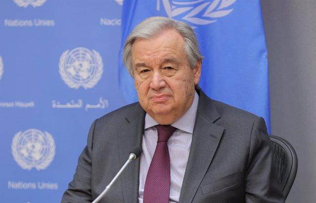 Coronavirus.- Guterres cancela todos los eventos en la sede central de la ONU y