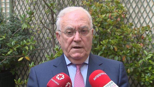 Gabriel García Alonso, presidente de la Asociación Empresarial Hotelera de Madrid.