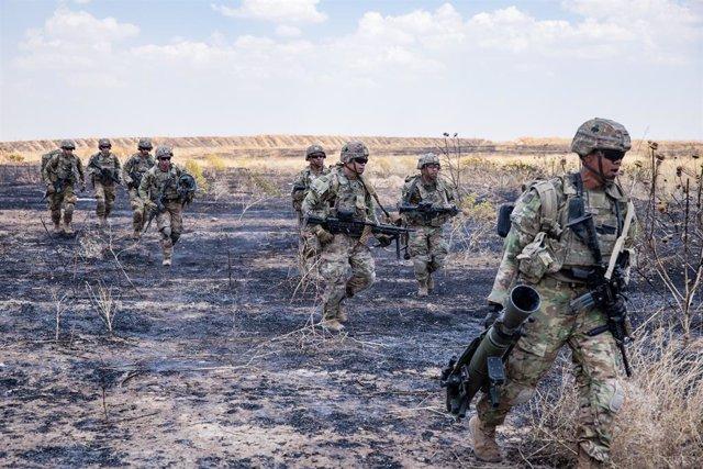 Irak.- EEUU ataca a la milicia iraquí Kataib Hezbolá en respuesta al ataque cont