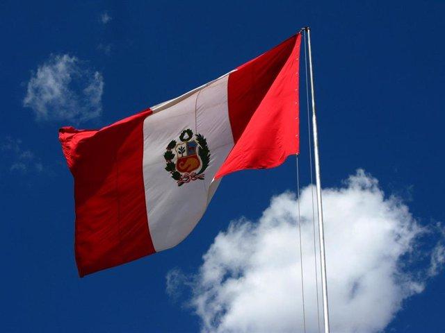 Bandera de Perú.