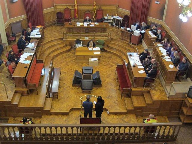 Judici a l'Audiència de Barcelona en una foto d'arxiu.