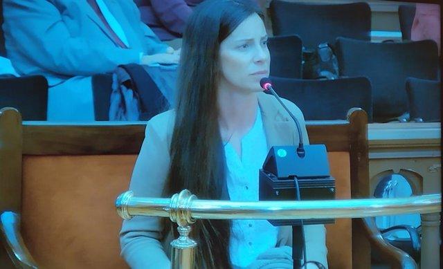 L'acusada del crim de la Guàrdia Urbana, Rosa Peral.