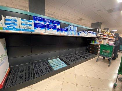 El gasto en productos de gran consumo se triplica en España ante el temor al coronavirus, según Kantar