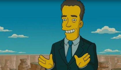 Los Simpson ya predijeron la cuarentena por coronavirus de Tom Hanks
