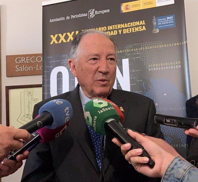El exdirector del CNI Félix Sanz Roldán.