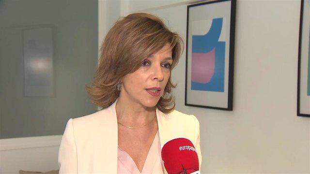 La directora general de la Fundación Instituto para el Desarrollo e Integración de la Sanidad (IDIS), Marta Villanueva.