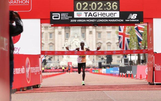 Coronavirus.- El coronavirus obliga a posponer la Maratón de Londres hasta octub