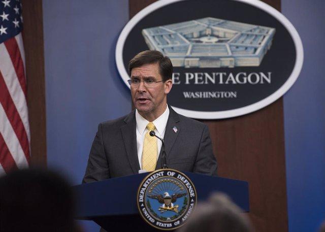 Coronavirus.- El Pentágono restringe los desplazamientos de su personal en EEUU