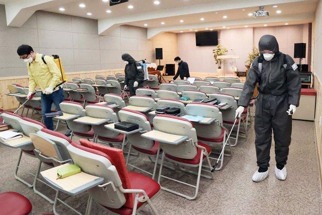 Coronavirus.- Los nuevos casos de coronavirus en Corea del Sur siguen disminuyen