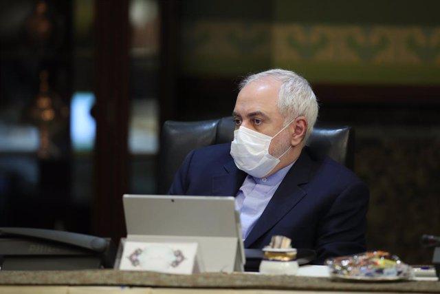 El ministre d'Afers Exteriors de l'Iran, Javad Zarif, en una reunió del Govern a Teheran.