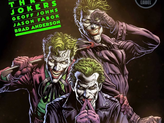 Portada de Batman Three Jokers