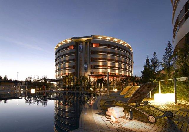 El hotel Nevada Palace de Grupo Abades, en Granada.