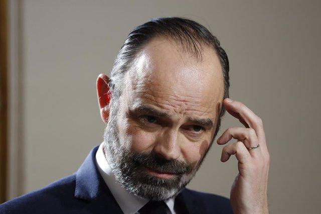El primer ministre de Frana, Edouard Philippe