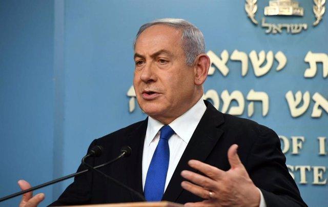 El primer ministro de Israel, Benjamin Netanyahu