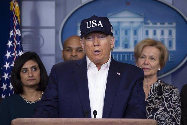Coronavirus.- Trump da negativo en la prueba de coronavirus
