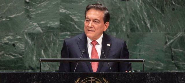 El presidente de Panamá, Laurentino Cortizo.