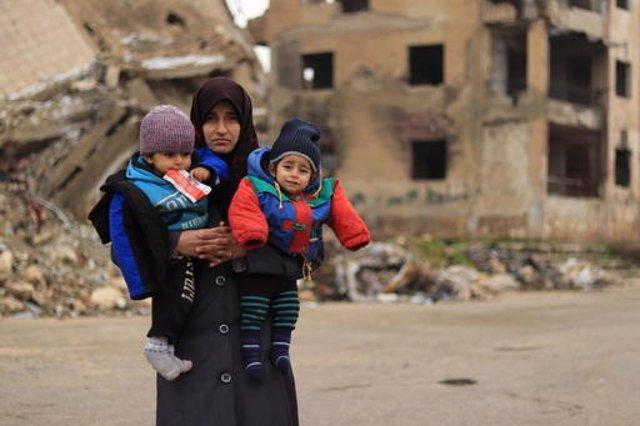 Siria.- Casi cinco millones de niños han nacido en Siria durante la guerra que a