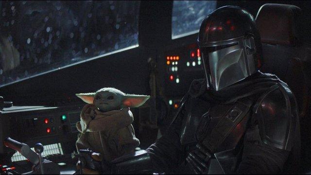Imagen de la serie de Star Wars: The Mandalorian