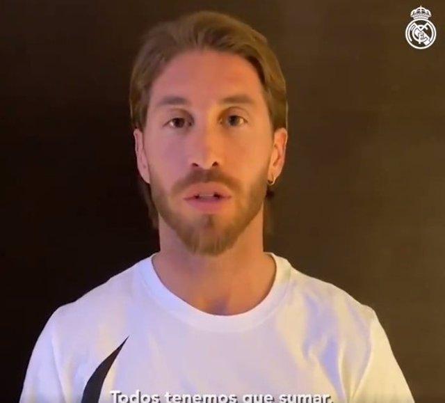"""Fútbol.- El Real Madrid anima desde el aislamiento: """"Este partido se juega en ca"""