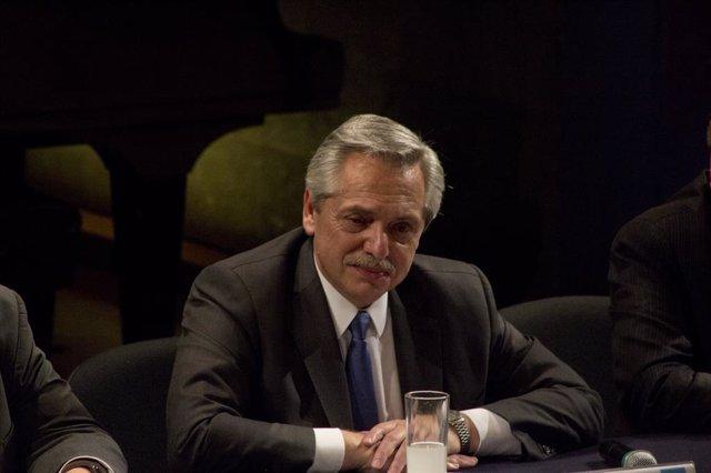 Coronavirus.- El presidente argentino destaca que se han tomado medidas mucho an