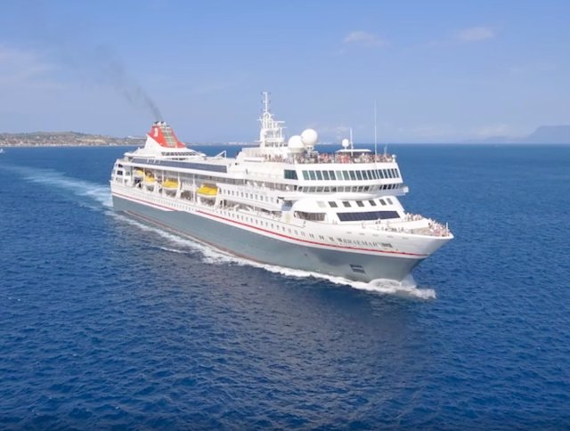 El crucero 'Braemar' de Fred Olsen Cruise Lines