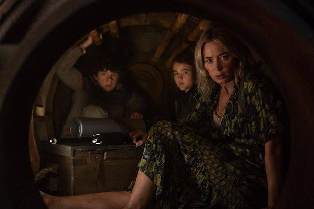 Imagen de la película Un lugar tranquilo