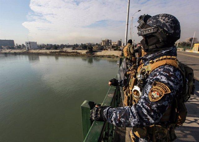 Coronavirus.- Decretan el toque de queda en Bagdad hasta el 24 de marzo para com