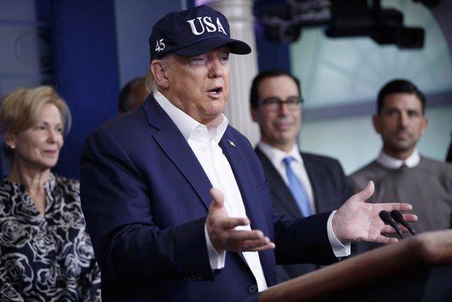 Coronavirus.- Trump ofreció una importante suma a científicos alemanes para logr