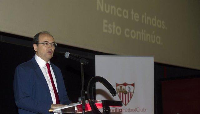 """Fútbol.- Pepe Castro: """"En este partido jugamos sevillistas y béticos por igual"""""""