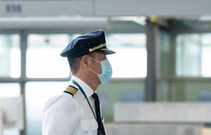 Los pilotos piden un plan de acción urgente para prevenir contagios en el transporte aéreo