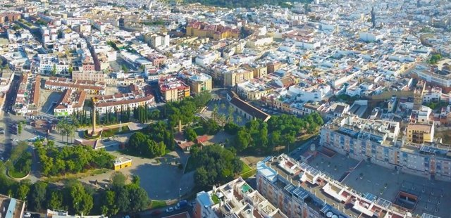 Vistas panorámicas del municipio sevillano de Alcalá de Guadaíra