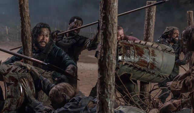 Imagen de la 10 temporada de The Walking Dead