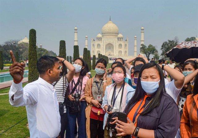 Coronavirus.- India cierra el Taj Mahal tras confirmar la tercera víctima mortal