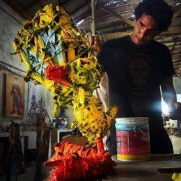 El artista cubano Luis Manuel Otero Alcántara