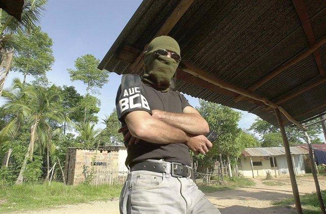 Un comandante de las AUC en Colombia (Imagen de archivo)