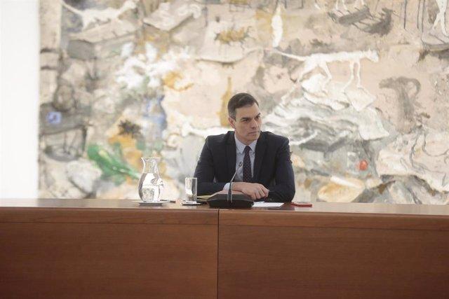Reunión de Pedro Sánchez para abordar la crisis del coronavirus