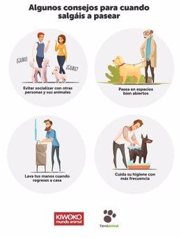 COMUNICADO: El bienestar de los animales, su alimentación y salud, entre las med