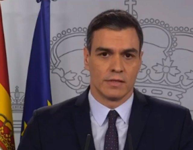 Rueda de prensa de Pedro Sánchez tras el Consejo de Ministros