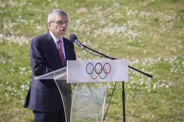 """AV.- JJ.OO.- El COI no aplaza los Juegos de Tokio porque todavía """"no hay necesid"""