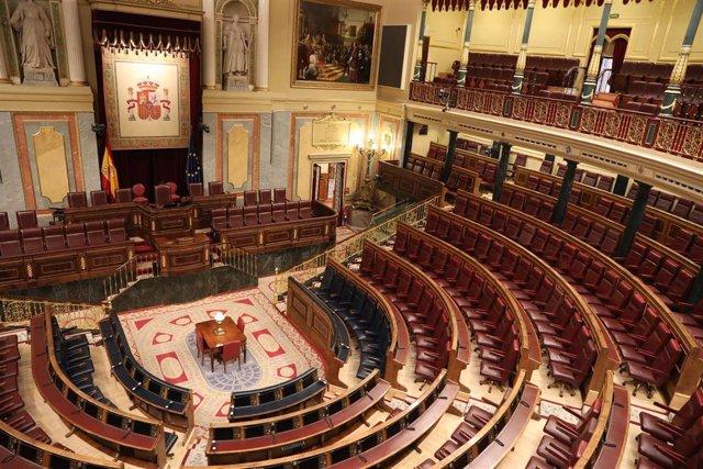 Coronavirus.-  El Congreso se prepara para un Pleno especial al que sólo asistirá una veintena de diputados