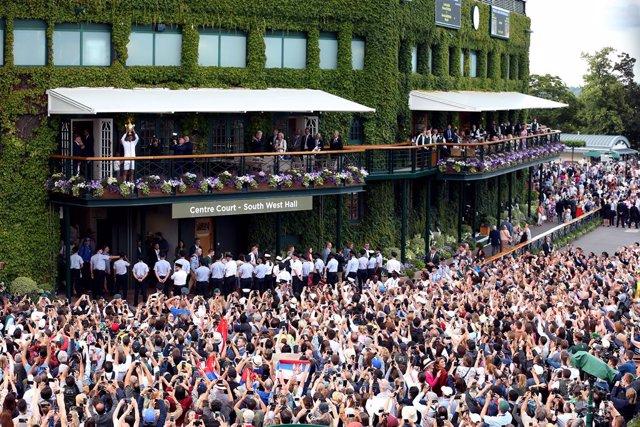 Tenis.- Wimbledon mantiene sus planes de comenzar el 29 de junio