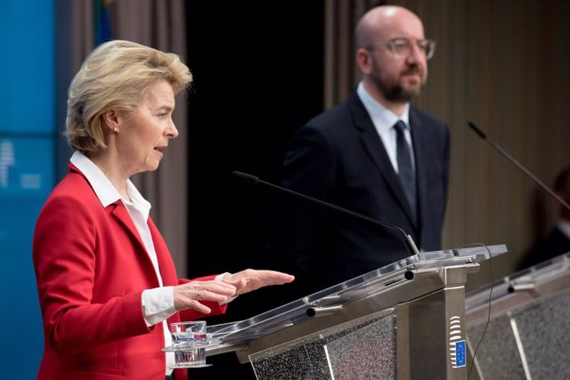 VÍDEO: Coronavirus.- Los líderes europeos aceptan cerrar fronteras exteriores de