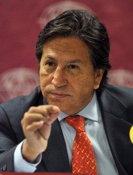 El expresidente de Perú Alejandro Toledo.