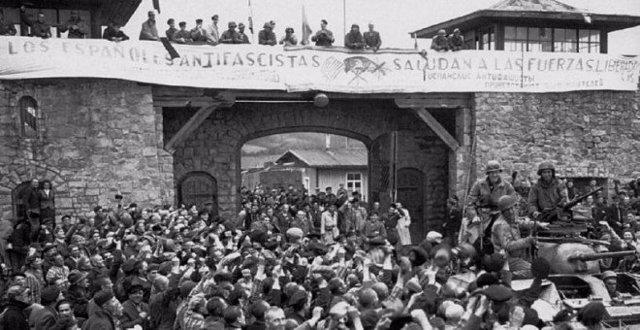 Alliberament de Mauthausen, 5 de maig de 1945