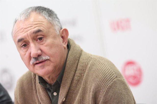 El secretari general d'UGT, Pepe Álvarez